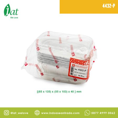 Aluminiun Tray STAR No.4432-P (320 ml)<br> 1 4432_p