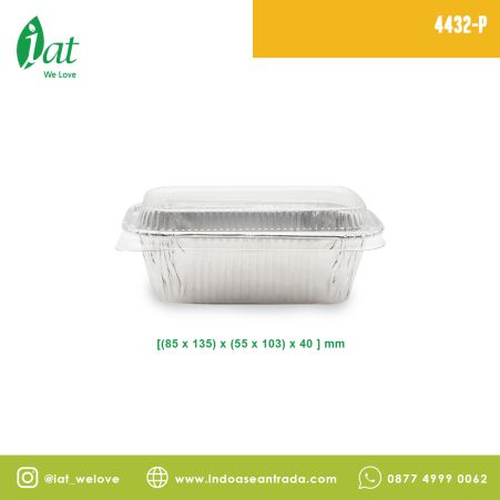 Aluminiun Tray STAR No.4432-P (320 ml)<br> 2 4432_p1